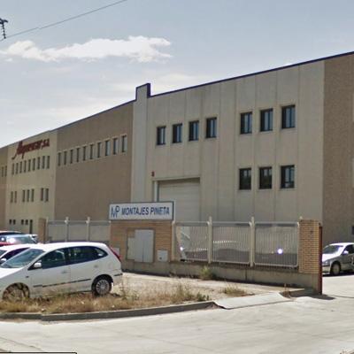 Alquezar (Zaragoza)</br>Diseño y fabricación de maquinaria industrial.