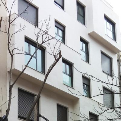 Res. Elva (Zaragoza)</br> 8 viviendas junto a La Puerta del Carmen.